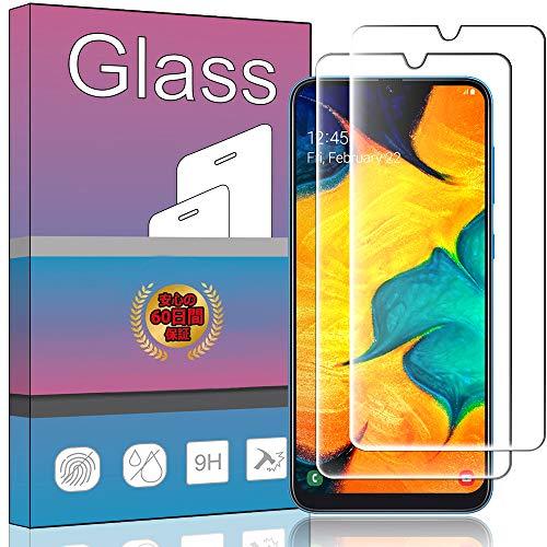 【2枚セット】FOR Galaxy A30 SCV43 ガラスフィルム 強化ガラス 液晶 ガラス 超薄型 保護フィルム SCV43 日本旭硝子素材AGC 高透過率 硬度9H 飛散防止 FOR Galaxy A30 SCV43 液晶保護フィルム PCduoduo