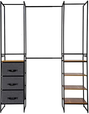 5Five Armoire Dressing modulable Extensible 180 cm