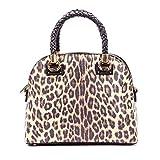 Liu Jo Boston Bag Leopardo Marrone