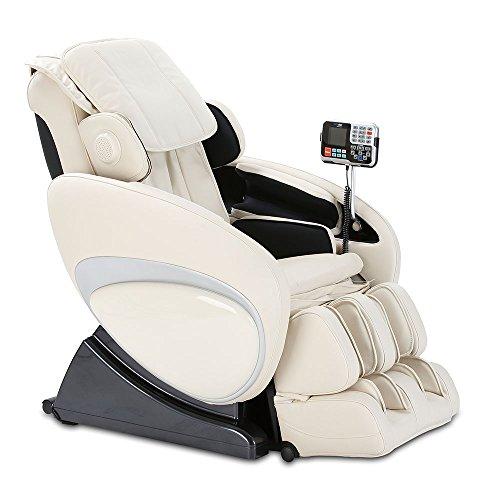 aktivshop Massagesessel Relax Island Entspannungssessel Massage Sessel Fernsehsessel (Creme)