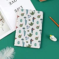 新しい ipad pro 11 2018 ケース スリムフィット シンプル 高級品質 手帳型 柔らかな内側 スタンド機能 保護ケース オートスリープ 傷つけ水彩サボテンの植物画像砂漠ホットメキシコのソウ自然花柄