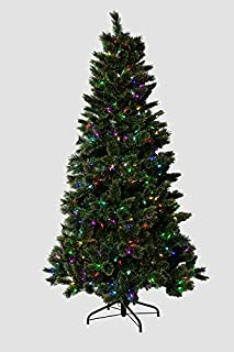 Mr. Light 7 Ft Pre-Lit Artificial Tree with 40 (Forty!) Different Functions & Color Combinations. Create Your Own Unique, Fabulous Christmas Light Show with This Tree, 400 LED's, PE & PVC.
