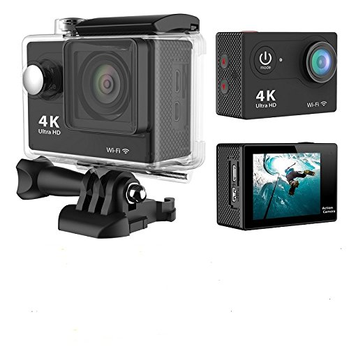 MST CAM-60 4K WIFI Sports Action Camera Ultra HD Waterproof DV Camcorder 12MP 170 Degree Wide Angle