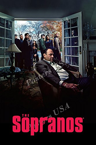 Posters USA The Sopranos TV Series Show Poster GLOSSY FINISH - TVS392 (24' x 36' (61cm x 91.5cm))