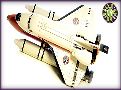 Lego City Space 2015 Space Port With Space Shuttle Stop Motion Review