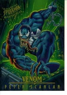 1995 Fleer Ultra Marvel Spider-Man Masterpieces Card #9 : Venom