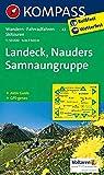 KOMPASS Wanderkarte Landeck - Nauders - Samnaungruppe: Wanderkarte mit Aktiv Guide, alpinen Skirouten und Radrouten. GPS-genau. 1:50000: Wandelkaart 1:50 000 (KOMPASS-Wanderkarten, Band 42)