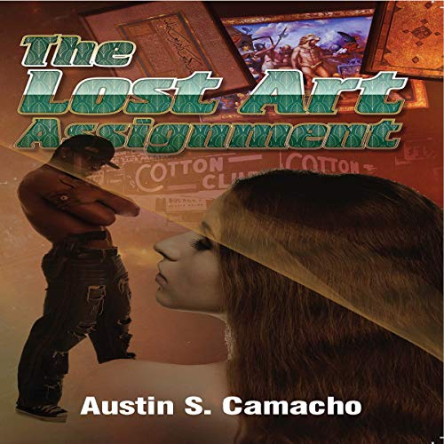 The Lost Art Assignment audiobook cover art