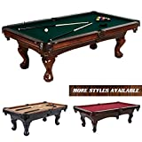 Barrington 100-Inch Wooden Game Room Pool Table