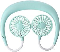 YAOHEHUA USB oplaadbare 3 versnellingen draagbare draagbare draagbare ventilator handsfree nek opknoping mini sport ventil...