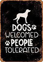 犬は、金属署名を許容人々を歓迎