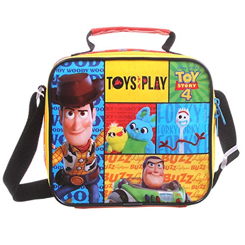 Lancheira Soft Toy Story 4 Easy, Dermiwil, 37537, Multicolorido