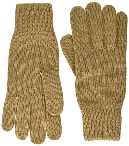 GANT Damen D1. KNITTED GLOVES Handschuh für besondere Anlässe, WARM Khaki, Onesize