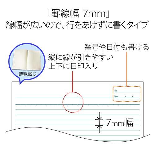 『プラス ノート セミB5(6号)A罫30枚10冊パック NO-003AJ-10P 75-085』のトップ画像