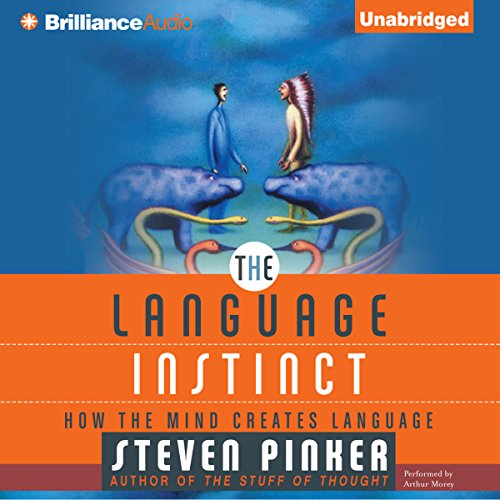 The Language Instinct audiobook cover art