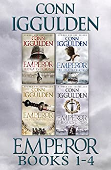 The Emperor Series Books 1-4 by [Conn Iggulden]