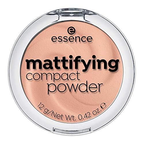 ESSENCE Mattifiying compact powder polvos matificantes 04 Perfect Beige