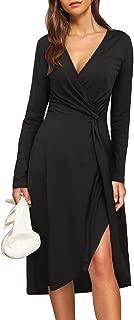 oversized wrap dress