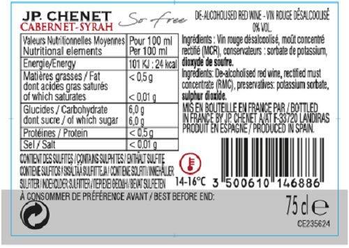 Cabernet Syrah – Rotwein – Alkoholfrei - 2