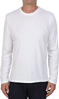 MAJESTIC FILATURES MOD. M537-HTS023 - Camiseta de cuello redondo de algodón Silk Touch para hombre, color blanco