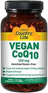 Country Life - Vegan CoQ10, 100 mg - 120 Vegan Softgels