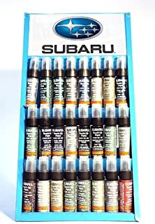 GENUINE SUBARU TOUCH UP PAINT - 51E - ASPEN WHITE