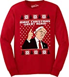 Make Christmas Great Again Funny Ugly Christmas...