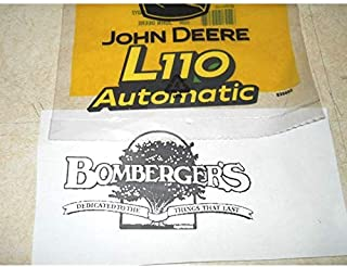John Deere L110 Automatic Hood Decal Set of Two GX21156