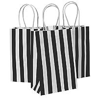 Kraft Paper Striped Bags