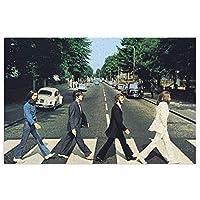 ビートルズ The Beatles 玄関マット 泥落とし 屋外 屋内 キッチンマット 北欧風 PVC ビニール フロアマット ドアマット 40*60cm 室外 室内 滑り止め 耐磨耗性 洗える
