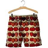 Las Frutas Tropicales Fresa 3D Sudaderas con Capucha/Camisa/Camiseta de otoño Invierno de Harajuku de Manga Larga Streetwear Shorts XL