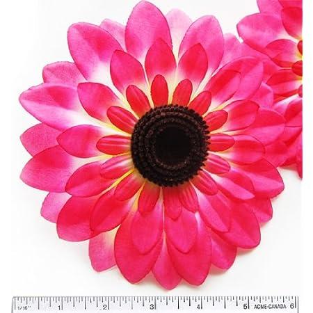 Small Flowers for Crafts Mini Sunflowers Flat back Flowers Black Chrysanthemum Fabric Die Cut Flowers 2550 pcs Padded Flowers