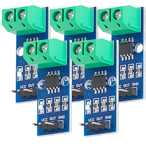 AZDelivery 5 x ACS712 20A Ampere Stromsensor Range Modul Current Sensor für Arduino Bascom