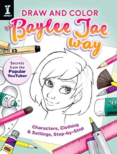 Draw and Color the Baylee Jae Way Characters Clothing and Settings Step by Step product image