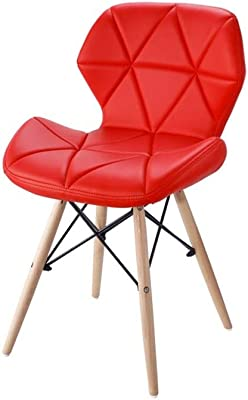 Amazon.com: KXBYMX Solid Wood Dining Chair, Home Leisure ...