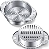 2 Pack Tuna Strainer Stainless Steel Food Can...