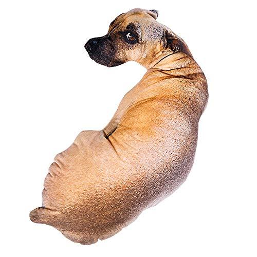 HSDCK Divertida Banda Modelo del Perro 3D Amortiguador de la