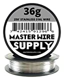 Stainless Steel 316L - 250' - 36 Gauge Wire