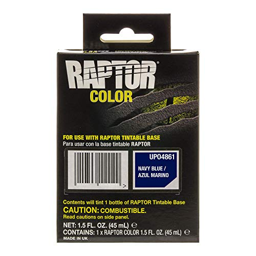 U-Pol Raptor Color Tint Pouches - Navy Blue
