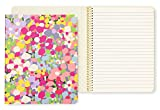Kate Spade New York Concealed Spiral Notebook with 112 Lined Pages, Floral Dot