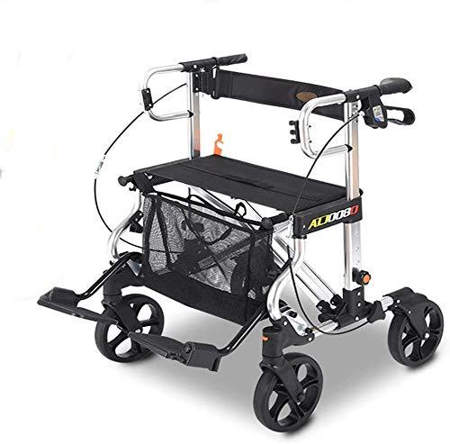 FEE-ZC Plegable Portátil Plegable Portátil Antiguo Carro de Compra Bicicleta de Aluminio...