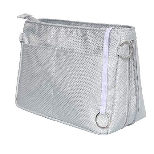 HyFanStr Taschenorganizer Bag in The Bag, Erweiterbar Tasche Organizer Innentaschen für Handtaschen, Klein Handtaschen Organizer Nylon Kapazität Kosmetik Organizer