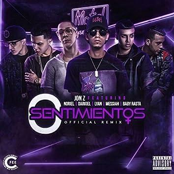 0 Sentimientos (Remix) [feat. Noriel, Darkiel, Lyan, Messiah & Baby Rasta]