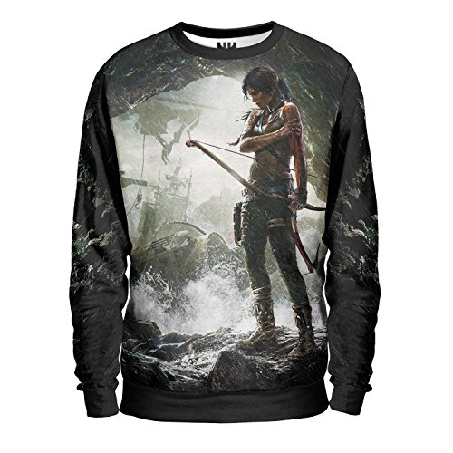 Noorhero - Sweat-Shirt Homme - Rise of Tomb Raider Island
