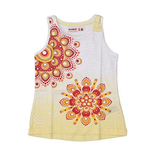 Desigual T-Shirt bebé-niñas Large Amarillo