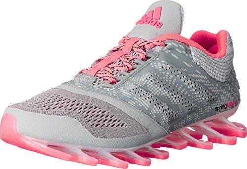 adidas Springblade Drive 2 Grigio/Argento Metallizzato/Corsa Rosa Shoe 8.5 Us