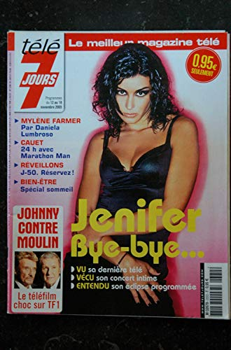 Télé 7 Jours 2372 * 2005 * JENIFER cover + 5 pages MYLENE FARMER CAUET