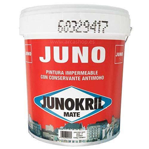 Junokril mate 15L Pintura Antimoho Interior / Exterior