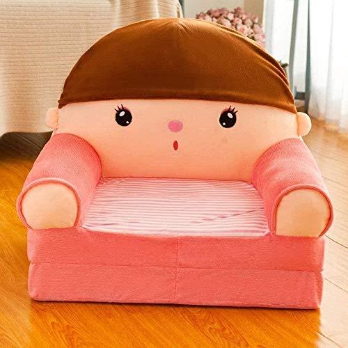 Sofá para niños de dibujos animados, sillón infantil Taburete para niños Muñeca de dibujos animados de dibujos animados Sofá plegable de juguete Sofá de juego Sillón de cd Sillón de dibujos animados c