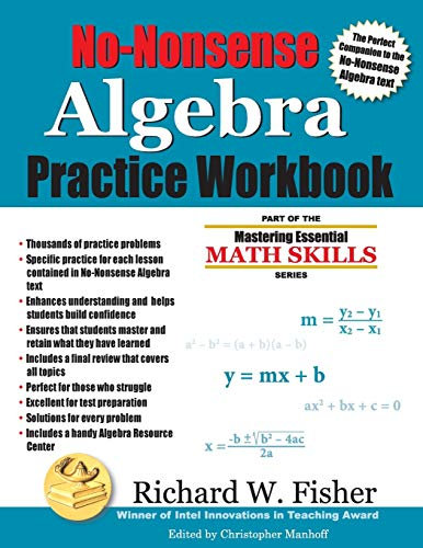 professional A Practical Guide to Serious Algebra: Part of a series to master basic math skills